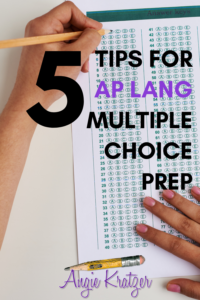 AP English Language multiple choice